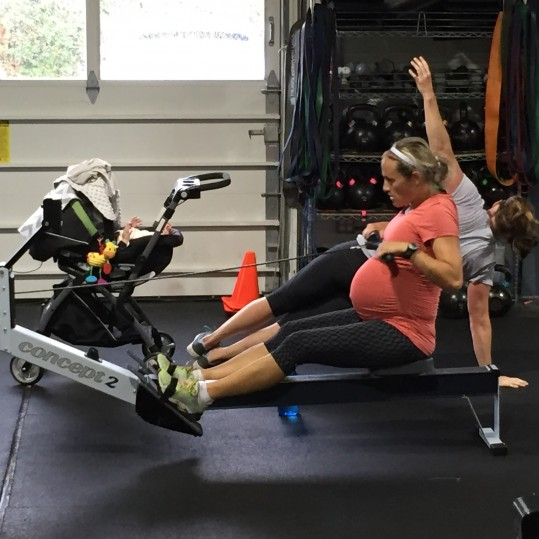 Pregnancy doesn't require the cessation of exercise. Rather, it requires a customized exercise program.